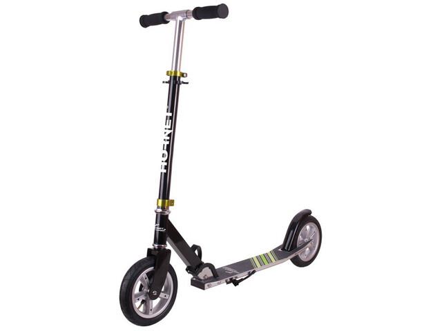HUDORA Hornet City Scooter Barn black/green